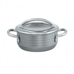 Puodas Low casserole w. lid, 20 cm Vision 2.4 LITR