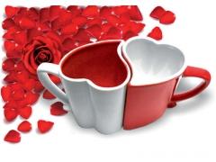 Puodeliai porai - Širdelės Šventinės prekės