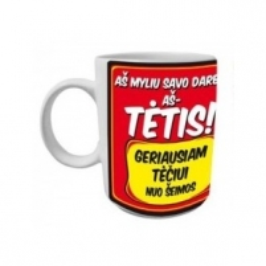 PUODELIS BIG TĖTIS 600ML Cups