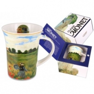 Puodelis Monet Aguonų laukas (7699) Kafija un tēja