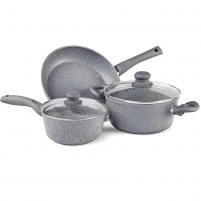 Puodų rinkinys Set of pots Stone Lamart LT1095 Puodų rinkiniai