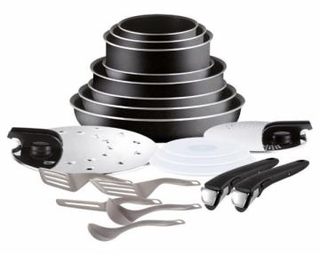 Puodų rinkinys Sets of pots Tefal L2009702 Ingenio Essential | 20 parts Puodų rinkiniai