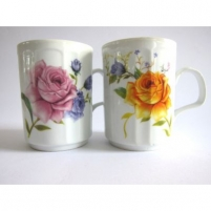 Puodukas 350ml rožės 0805 Cups