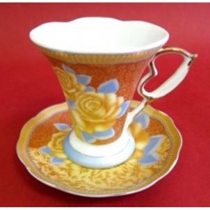 Puodukų s/l arbatai porc. 6vnt. rink. B61019-G