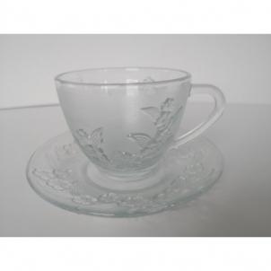 Puodukų stikl.s/l rink.200ml 6vnt.2107B Kafija un tēja
