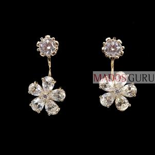 Decorated earrings A211 Earrings