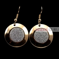 Decorated earrings A291