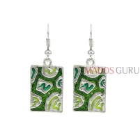 Decorated earrings A692