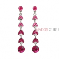 Decorated earrings A751