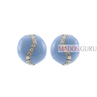 Decorated earrings A792