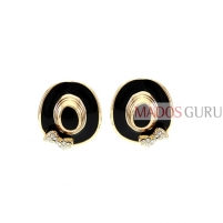 Decorated earrings A798