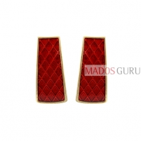 Decorated earrings A803