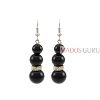 Decorated earrings A850