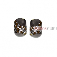 Decorated earrings A927