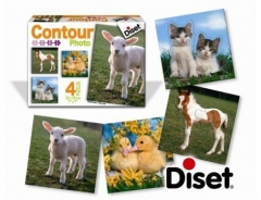 Puzzle Contour Photo 4 puzzle 69621 Jigsaw for kids