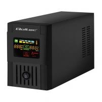 Qoltec Nepertraukiamo maitinimo šaltinis MONOLITH 1000VA | 600W LCD USB