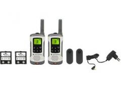 Racija Motorola T50 portatyvios radio stotelės, 8km, 8kanalai Racijos, CB radijo stotelės