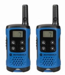 Radios Motorola T41 short-wave radio, 4km, black-blue
