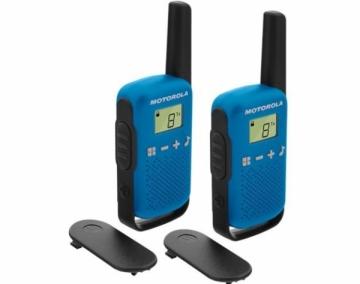 Racijos Motorola T42 short-wave radio, 4km, Blue Racijos, CB radijo stotelės