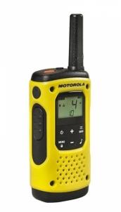 Racijos Motorola T92 H2O short-wave radio, 10 km, Black-Yellow
