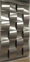 Radiator Irsap Curval, 1820x759 mm, aliuminio pilkos spalvos Decorative radiators
