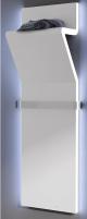 Radiator Irsap Tratto, 1200x450 mm, su LED apšvietimu, baltas Decorative radiators
