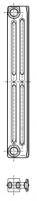 Radiatorius ketinis sekcijinis TERMO 623/95 (grunto spalva RAL7035) Ketiniai radiatoriai