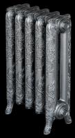 Radiatorius ketinis sekcijinis WINDSOR 600/180 (surinktas*, sidabro spalva) Ketiniai radiatoriai