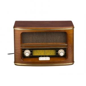 Radijas Camry Retro radio CR 1103 Wooden Brown, 1,5 W Radijo imtuvai