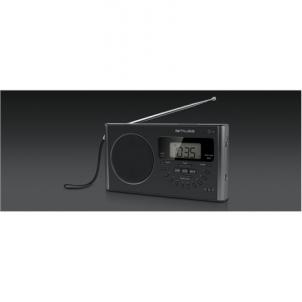 Radio Muse M-089 R Black, Alarm function, 4-band PLL Portable Radio Radio receivers