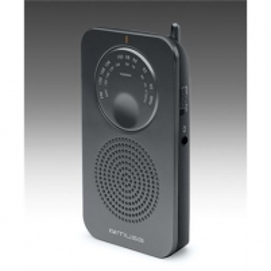 Radio Muse Pocket radio M-01 RS Black Radio receivers