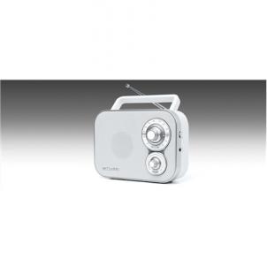Radijas Muse Portable Radio M-051RW White, AUX in Radijo imtuvai