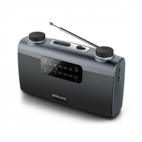 Radio Muse Portable radio M-058R Black, AUX in
