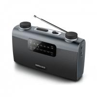 Radijas Muse Portable radio M-058R Black, AUX in Radijo imtuvai