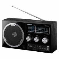 Radijas Panasonic RF-800UEE1-K Radijo imtuvai