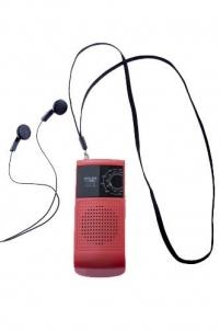 Radijas Pocket radio Adler AD 1159 | red