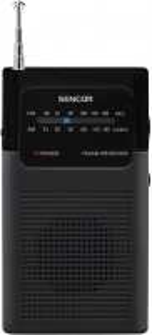 Radijas Radio Receiver FM/AM SENCOR SRD 1100 B Radijo imtuvai