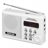 Radijo imtuvas Pocket Radio Receiver Sencor SRD 215 W Radijo imtuvai