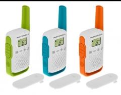 Radijo stotelė Motorola T42 Triple Pack short-wave radio, 4km, Mix Color