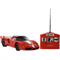 Radio bangomis valdomas automobilis 1:16 Licensed Vehicle: Ferrari FXX
