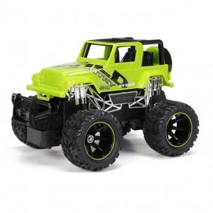 Radio bangomis valdomas automobilis 1:24 R/C Jeep Wrangler RC automobiliai vaikams