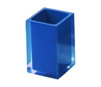 RAINBOW stiklinė, mėlyna