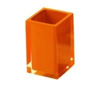 RAINBOW stiklinė, oranžinė