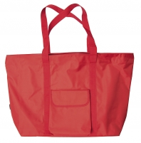 Handbag BOLOGNA paplūd. 972 40 red Handbag