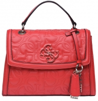 Rankinė Guess Ladies New Wave Top Handle Flap red-red