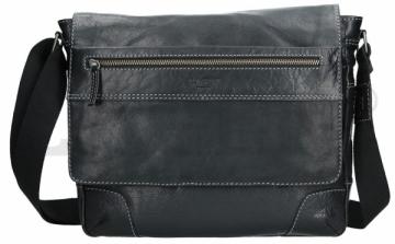 Rankinė Lagen Men´s shoulder bag 23307 BLACK Rankinės / Delninukės