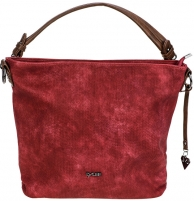 Rankinė LYLEE Elegant Handbag Fleurette Hobo Bag Red