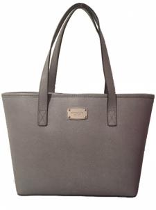 Handbag Michael Kors Elegant leather handbag business Safian Jet Set Leather Tote Grey