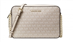 Handbag Michael Kors Jet Set Large Logo Jacquard Crossbody Bag Handbag
