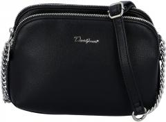 Handbag per petį David Jones 6508-2 Black Handbag